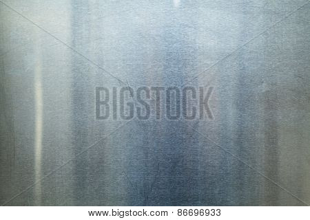 Brushed Metal texture with lighting and lens ghost