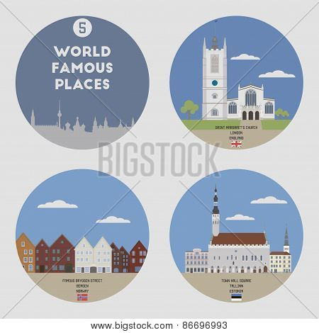 World Famous Places. Set 5