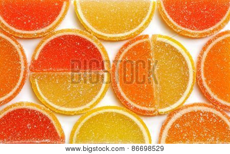 Marmalade lemon orange and grapefruit slices