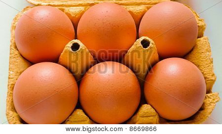 Eggs From A Small Market In France