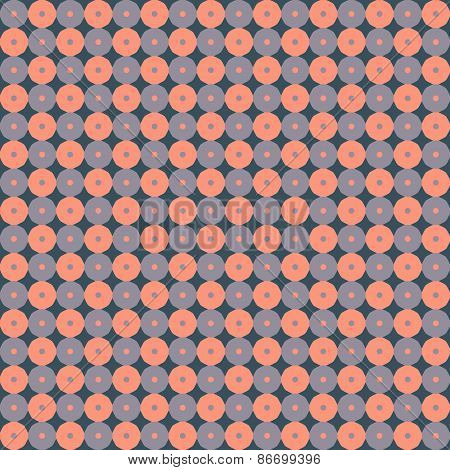 Seamless ornamental geometric pattern