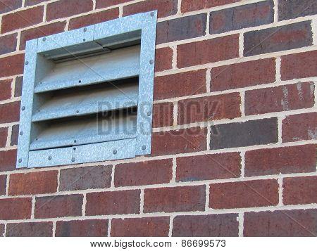 Brick Wall Vent