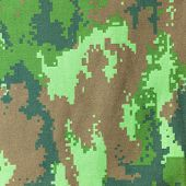 picture of camoflage  - a military camouflage fabric background texture  - JPG