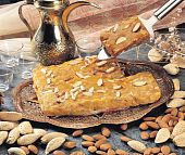 picture of halwa  - Healthy Almonds Halwa made with natural almonds and pure ghee - JPG