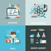 ������, ������: Chemistry Flat Set