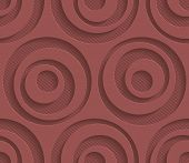 foto of marsala  - Marsala color perforated paper with cut out effect - JPG