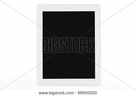 White Tablet On White Background