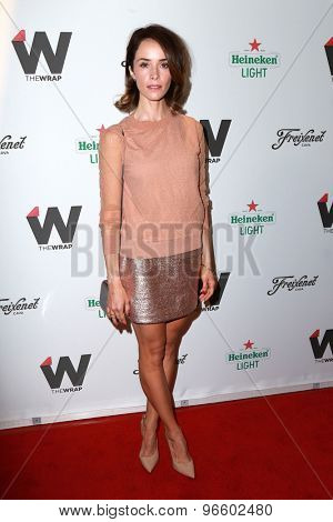 LOS ANGELES - JUN 11:  Abigail Spencer at the TheWrap's 2nd Annual Emmy Party at the London Hotel on June 11, 2015 in West Hollywood, CA