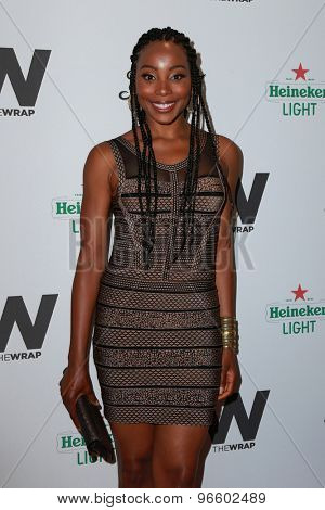 LOS ANGELES - JUN 11:  Erica Ash at the TheWrap's 2nd Annual Emmy Party at the London Hotel on June 11, 2015 in West Hollywood, CA