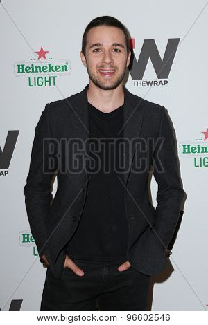 LOS ANGELES - JUN 11:  Marc Bendavid at the TheWrap's 2nd Annual Emmy Party at the London Hotel on June 11, 2015 in West Hollywood, CA