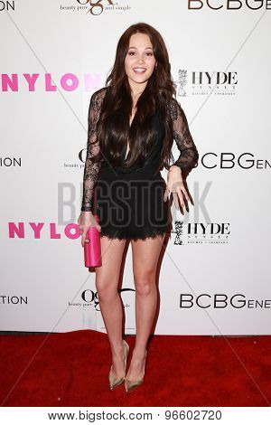 LOS ANGELES - MAY 7:  Kelli Berglund at the NYLON Magazine Young Hollywood Issue Party  at the HYDE Sunset on May 7, 2015 in West Hollywood, CA