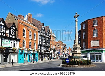 Tewkesbury Town Centre.