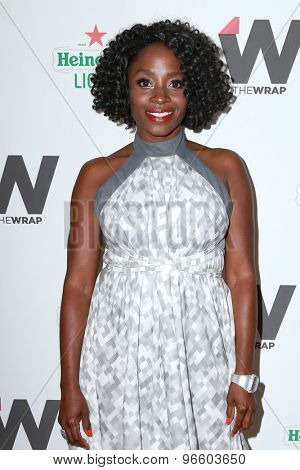 LOS ANGELES - JUN 11:  Idara Victor at the TheWrap's 2nd Annual Emmy Party at the London Hotel on June 11, 2015 in West Hollywood, CA