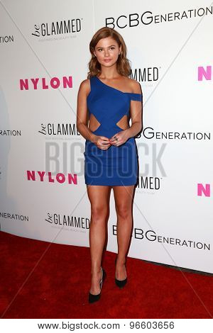 LOS ANGELES - MAY 7:  Stefanie Scott at the NYLON Magazine Young Hollywood Issue Party  at the HYDE Sunset on May 7, 2015 in West Hollywood, CA