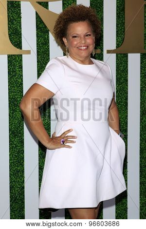 LOS ANGELES - JUN 24:  Debra Lee at the 2015 BET Awards Pre-Dinner at the Sunset Tower Hotel on June 24, 2015 in Los Angeles, CA