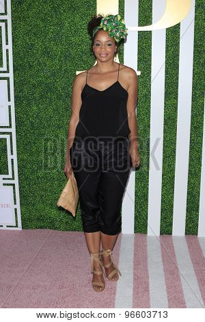LOS ANGELES - JUN 24:  Latarsha Rose at the 2015 BET Awards Pre-Dinner at the Sunset Tower Hotel on June 24, 2015 in Los Angeles, CA