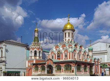 Kazan Cathedral, Moscow,russia