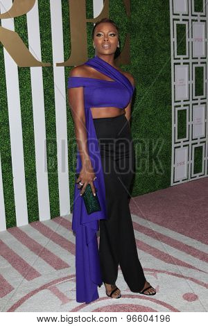 LOS ANGELES - JUN 24:  Eva Marcille at the 2015 BET Awards Pre-Dinner at the Sunset Tower Hotel on June 24, 2015 in Los Angeles, CA
