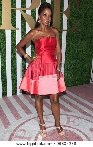 LOS ANGELES - JUN 24:  Holly Robinson Peete at the 2015 BET Awards Pre-Dinner at the Sunset Tower Hotel on June 24, 2015 in Los Angeles, CA