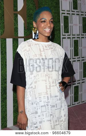 LOS ANGELES - JUN 24:  Sharaya J at the 2015 BET Awards Pre-Dinner at the Sunset Tower Hotel on June 24, 2015 in Los Angeles, CA