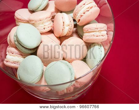 Macarons In Bowl