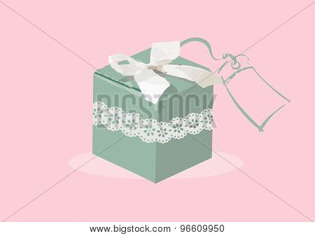 Vector Illustration Of Wedding Favor