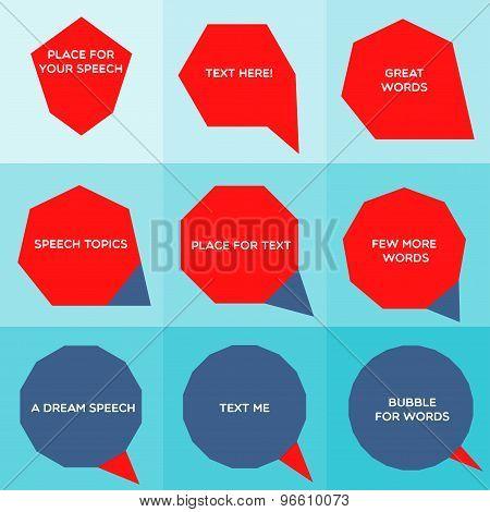 Speech Bubble Graphic