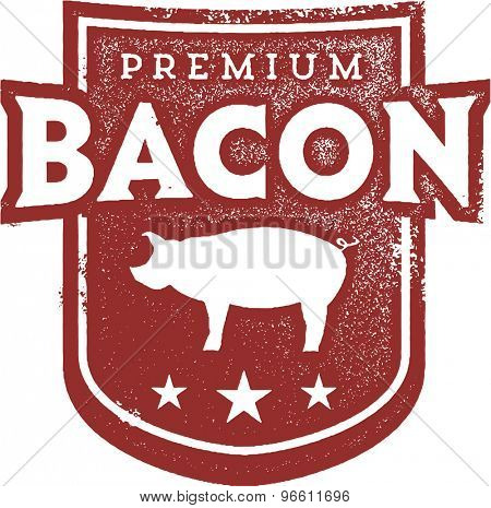 Premium Pork Bacon Crest