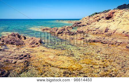 Coastal Landscape, Corsica Island, France