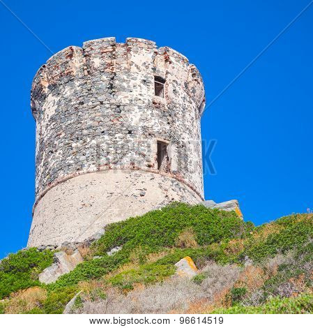 Parata. Genoese Tower On Sanguinaires, Corsica