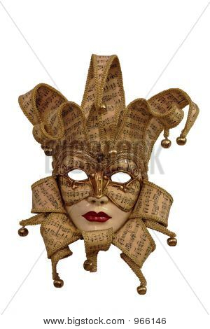 Venice Mask With Clipping Path