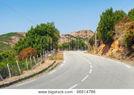 Turning Mountain Highway, Road Landscape
