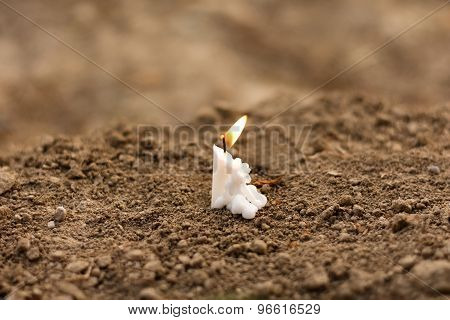 Candle On Earth Funeral