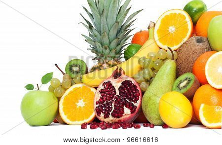 Composition With Fruits Isolated