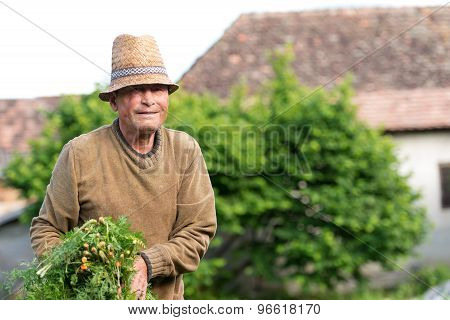 Portrait Of A Smiling Farmer