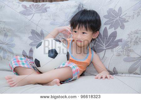 Smiling Kid Boy