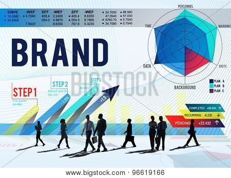 Brand Advertising Commercial Marketing Concept