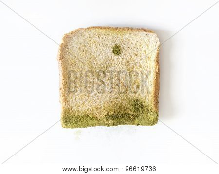 Mold On Bread Isolated