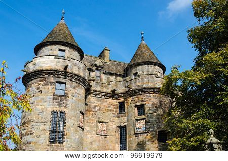Old Scottish palace