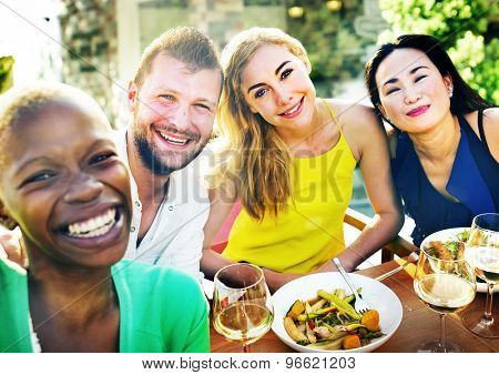 People Party Friendship Togetherness Happiness Concept