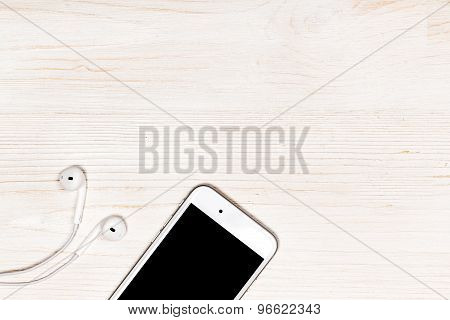 Mobile Phone On The Table