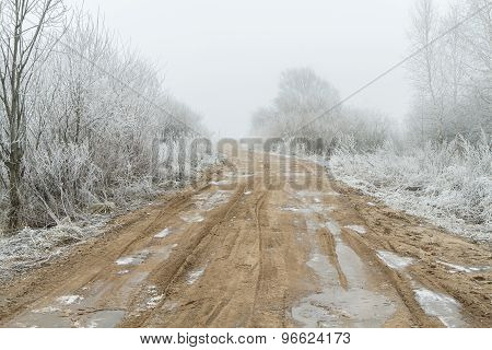 Road And Ice
