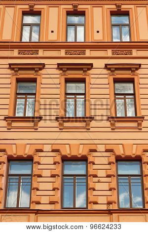 Detail Of A House Wall