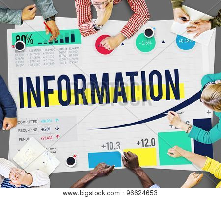 Information Data Research Facts Source Concept