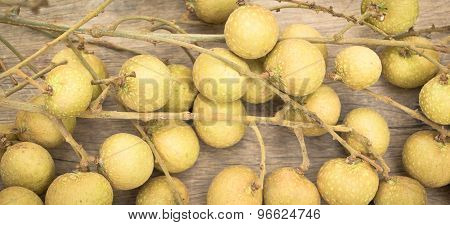 Fresh Longan ,tropical Fruit