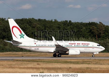 Royal Air Maroc Boeing 737-700