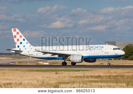 Croatia Airlines Airbus A320
