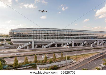 Frankfurt Airport Building