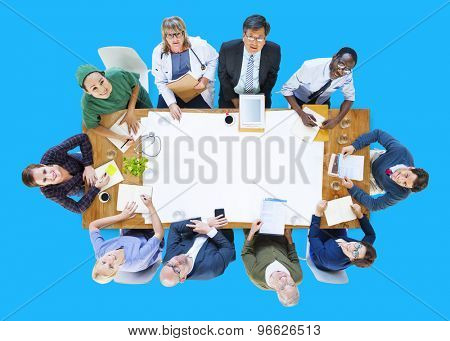 Doctor Medication Diagnosis Hospital Meeting Concept