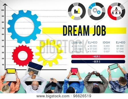 Dream Job Occupation Goals Career Concept